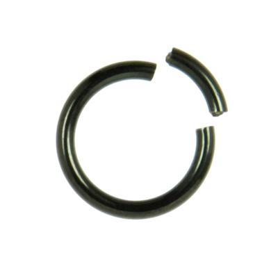 Piercing Titan PVD Beschichtung (schwarz)