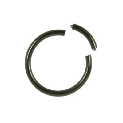 1.2mm Titan Piercingteil Titan PVD Beschichtung (schwarz)