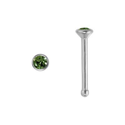 Nasenpiercing Titan Swarovski Kristall