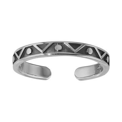 Zehenring Silber 925 Dreieck