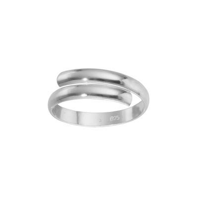 Fingerring Silber 925 Spirale