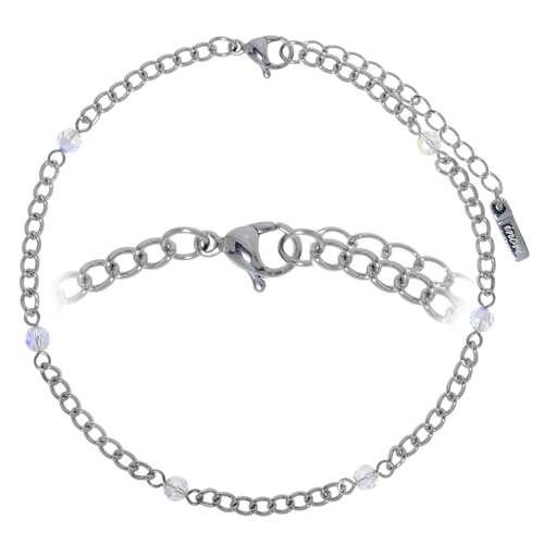 Fusskettchen Stahl Synthetische Perle