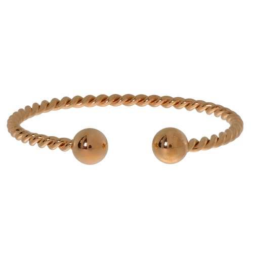 Bracelet rigide Acier inoxydable Revêtement d´or (doré)
