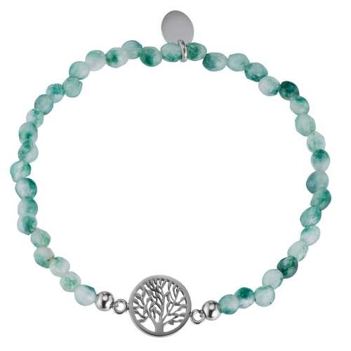 Armband Edelstahl Jade Baum Baum_des_Lebens