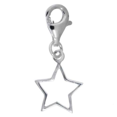 Kinder Charm Silber 925 Stern