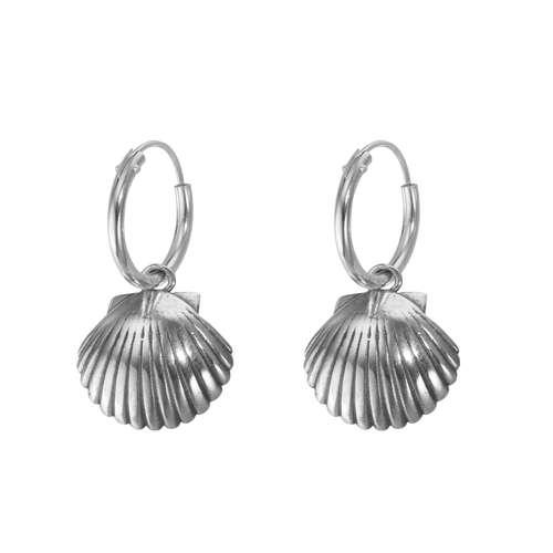 Ohrhänger Silber 925 Muschel