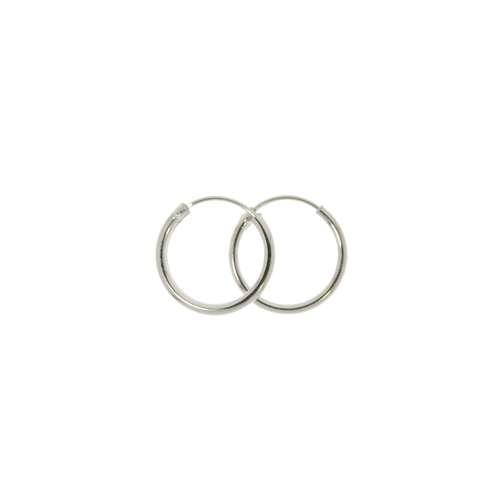 Creolen aus Silber 925. Querschnitt :1,5mm. Gewicht:0,72g. Silber 925