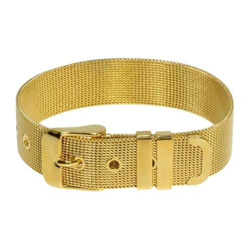 Armband Edelstahl Gold-Beschichtung (vergoldet)
