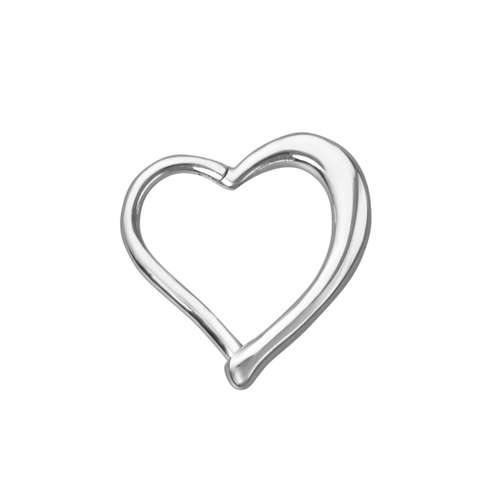 Ohrpiercing Chirurgenstahl 316L Herz Liebe Heartilage