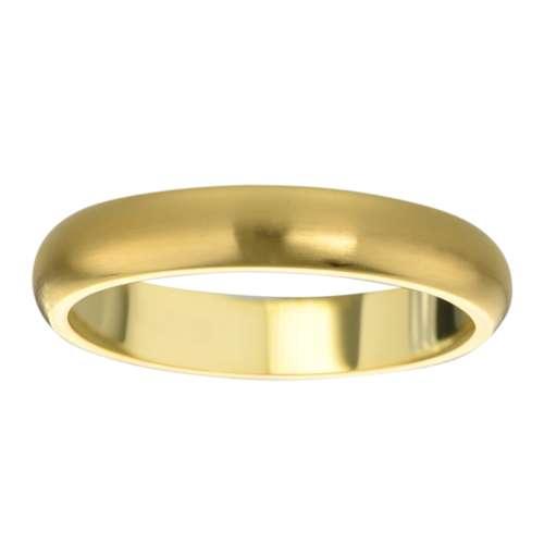 Bague de doigt Acier inoxydable Revêtement PVD (couleur or)