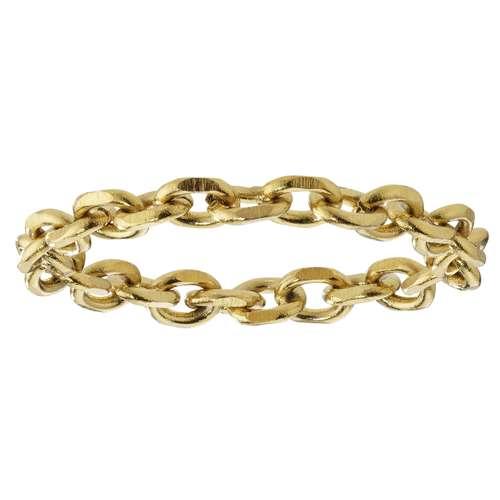 Anello Acciaio inox Rivestimento PVD (colore oro)