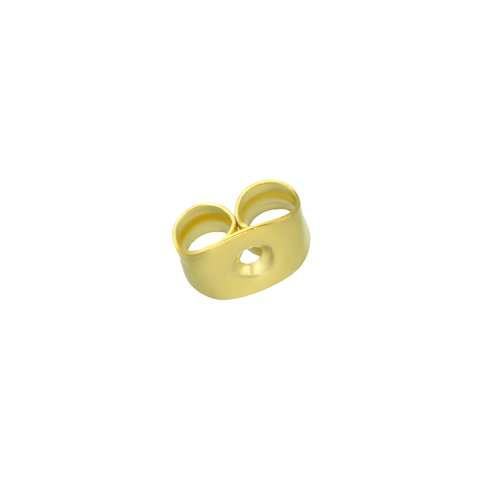 Ohrstecker Edelstahl PVD Beschichtung (goldfarbig)