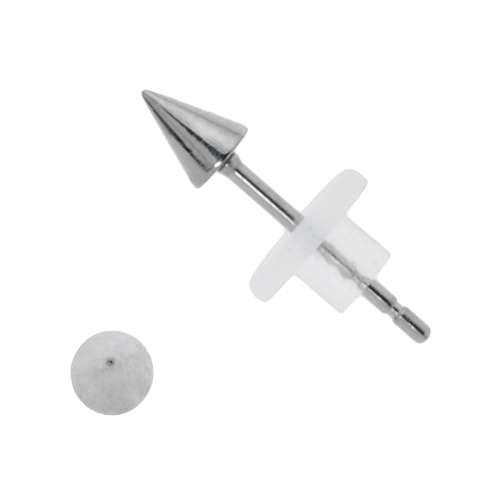 Orecchini Metallo chirurgico 316L Metallo chirurgico 316L PVC