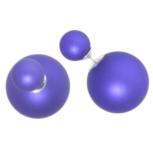 Ohrstecker Silber 925 Synthetische Perle
