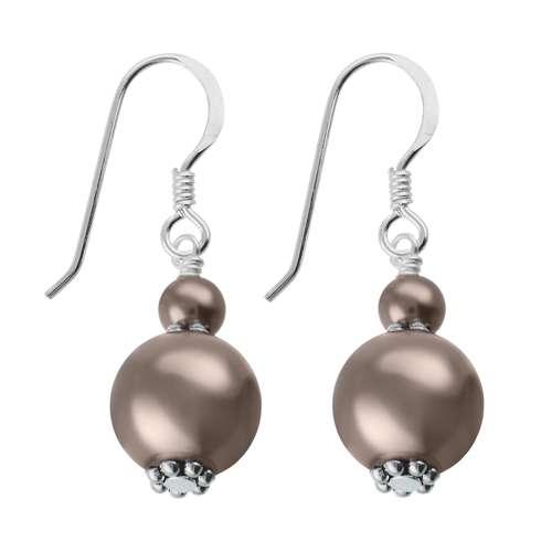 Orecchini Argento 925 Perla sintetica