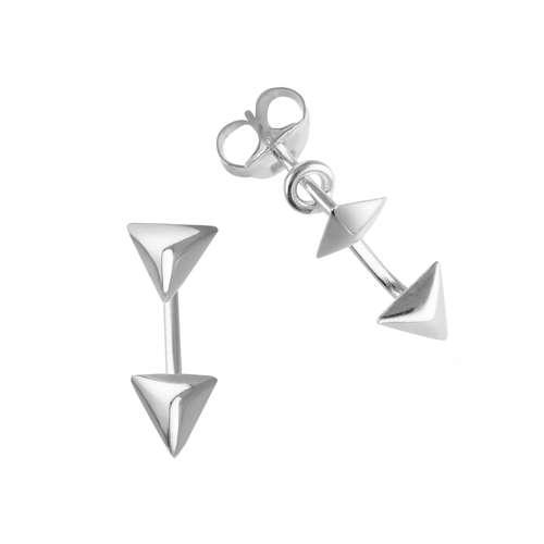 Ohrstecker Silber 925 Dreieck