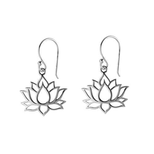 Ohrhänger Silber 925 Blume