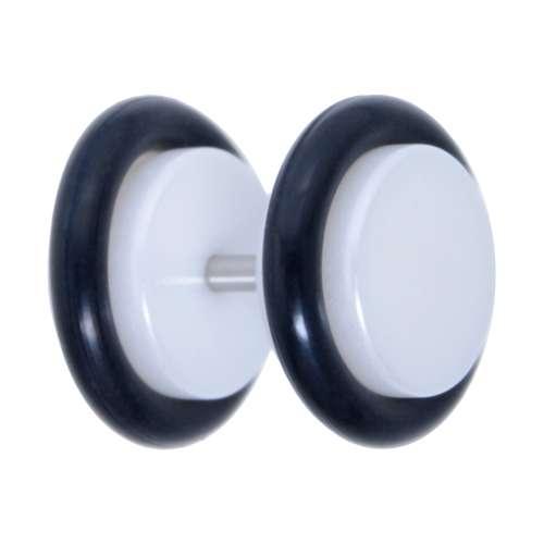 Fake-Plug Acrylglas Chirurgenstahl 316L PVC