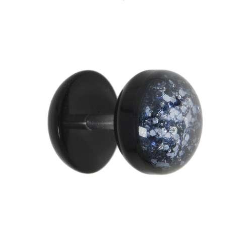 Fake-Plug Acrylglas Edelstahl Epoxiharz