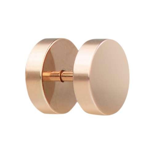 Fake-Plug Chirurgenstahl 316L PVD Beschichtung (goldfarbig)