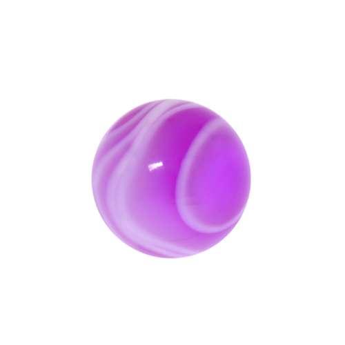 Chiusura piercing Vetro acrilico Onda