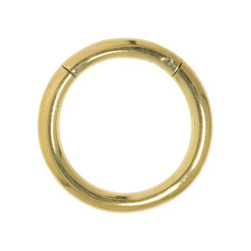 Septumpiercing Chirurgenstahl 316L PVD Beschichtung (goldfarbig)