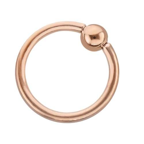 Piercingstab Chirurgenstahl 316L PVD Beschichtung (goldfarbig)