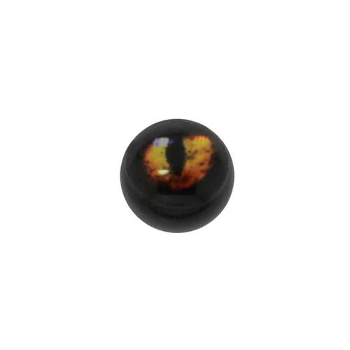 1.2mm Piercing-Kugel Acrylglas Glas Auge Iris Pupille