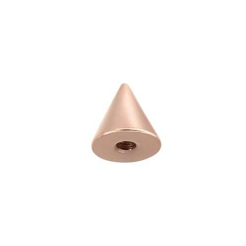 1.2mm Piercingverschluss Chirurgenstahl 316L PVD Beschichtung (goldfarbig)