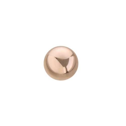 1.2mm Piercing-Kugel PVD Beschichtung (goldfarbig)