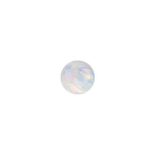 1.2mm Piercing-Kugel Synthetischer Opal