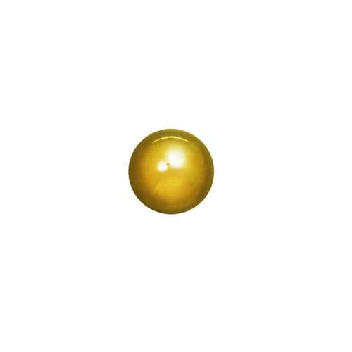 1.2mm Piercing-Kugel Chirurgenstahl 316L Gold-Beschichtung (vergoldet)