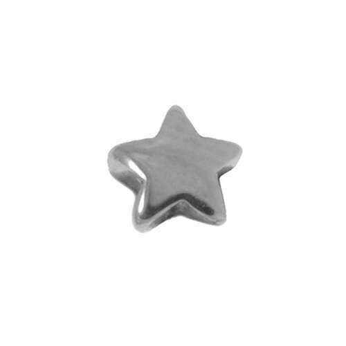 1.2mm Piercingverschluss Chirurgenstahl 316L Stern