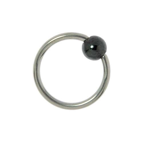 1.2mm Piercingstab Chirurgenstahl 316L Kristall Synthetische Perle