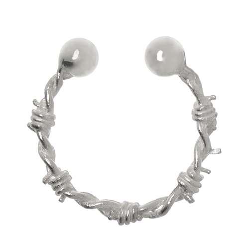 Brustwarzen-Clip Silber 925