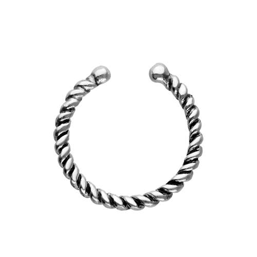 Nasenclip Silber 925 Spirale