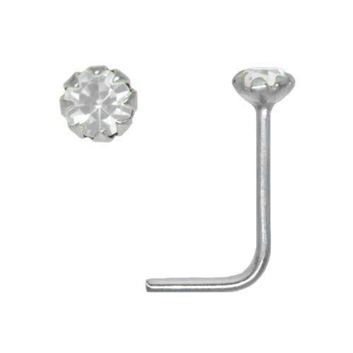 Piercing nez Argent 925 Cristal