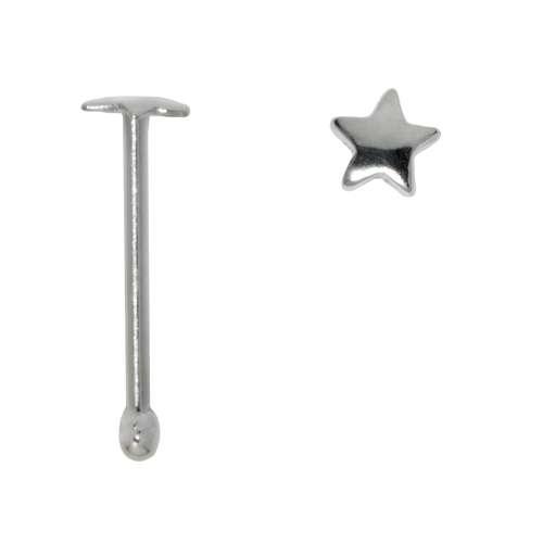 Nasenpiercing Silber 925 Stern