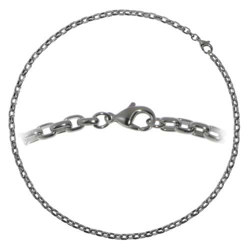 Halskette Edelstahl