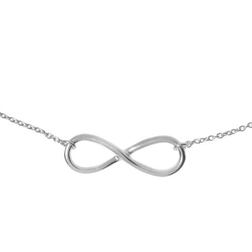 Neck jewelry Silver 925 Eternal Loop Eternity