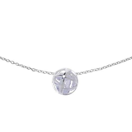 Halsschmuck Silber 925 Kristall