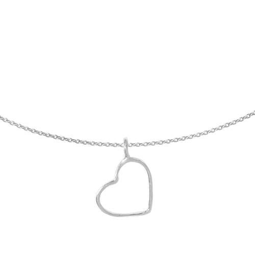 Halsschmuck Silber 925 Herz Liebe