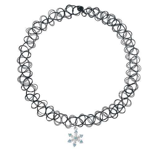 Halsschmuck Kunststoff Silber 925 Zirkonia Stern