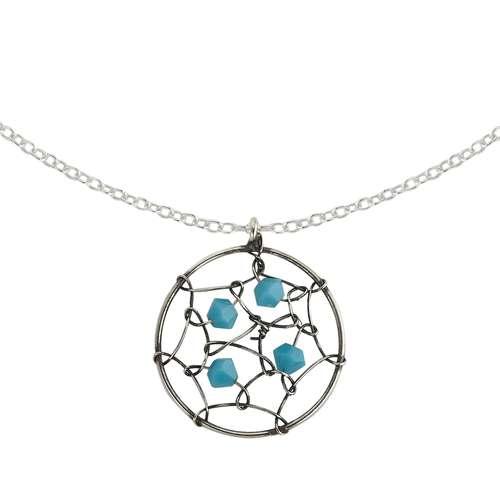 Halsschmuck Silber 925 Swarovski Kristall