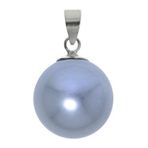 Pendentif Argent 925 Perle synthétique