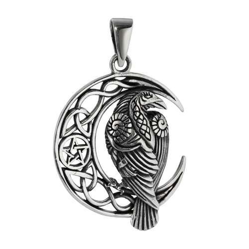 Silber-Anhänger Silber 925 Stern Mond Halbmond Adler Vogel Storch
