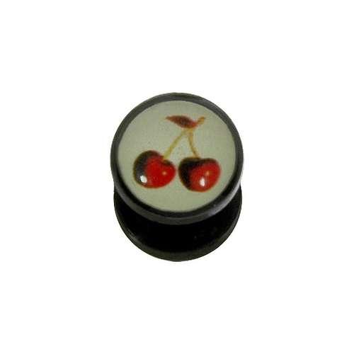 Plug Acrylglas Epoxiharz Kirschen