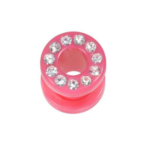 Plug Acrylglas Kristall