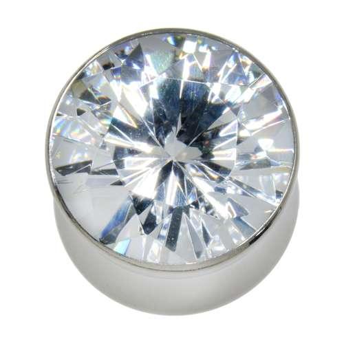Plug Chirurgenstahl 316L Kristall