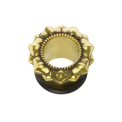 Plug Messing PVC Blume